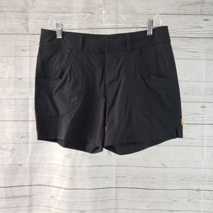 Lucy Athletic Shorts Sz Small Black Mid Rise